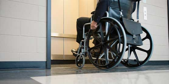 Home lifts, adapted for people with reduced mobility