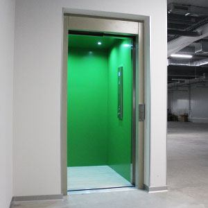 elevator adapted for people with disabilities